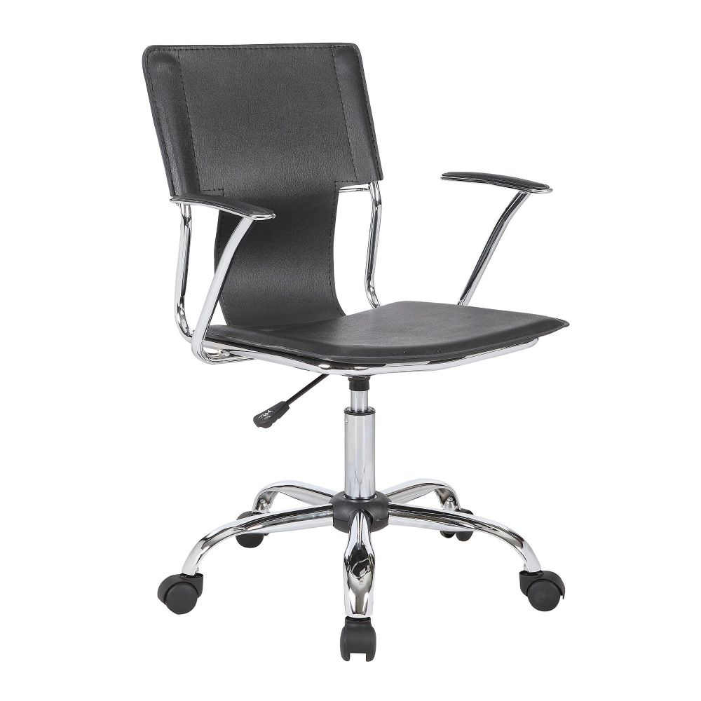 Trento High Back Meeting Room Chair Soft Seats with Chrome Detail Eliza Tinsley